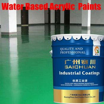 Long Lasting Water Based Acrylic Spray Lacquer Paints