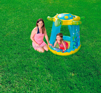 Customized Outdoor Sports Cheap Price Inflatable Baby Swimming Pool With  Turtle Sunshade - Buy Inflatable Baby Swimming Pool,Portable Inflatable  Baby ...