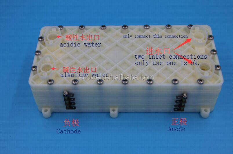 4567 plates titanium electrolysis chamber coated