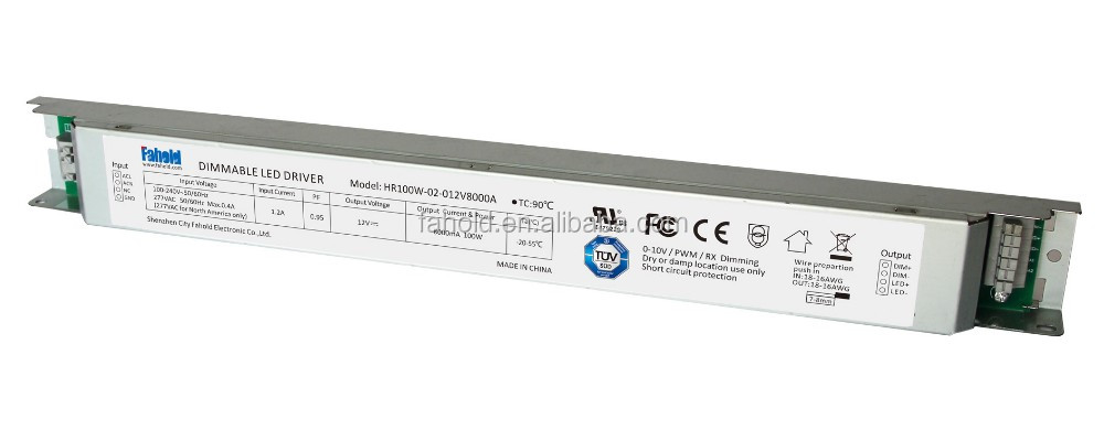 100w led driver 36v anchorn lighting dimmable led power driver for led flooding light linear