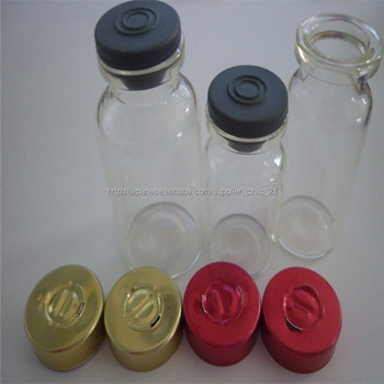 2ml,3ml,4ml,5ml,7ml,8ml,10ml,12ml,15ml,20ml,25ml,30ml pharmaceutical tubular glass serum vial with flip top seals