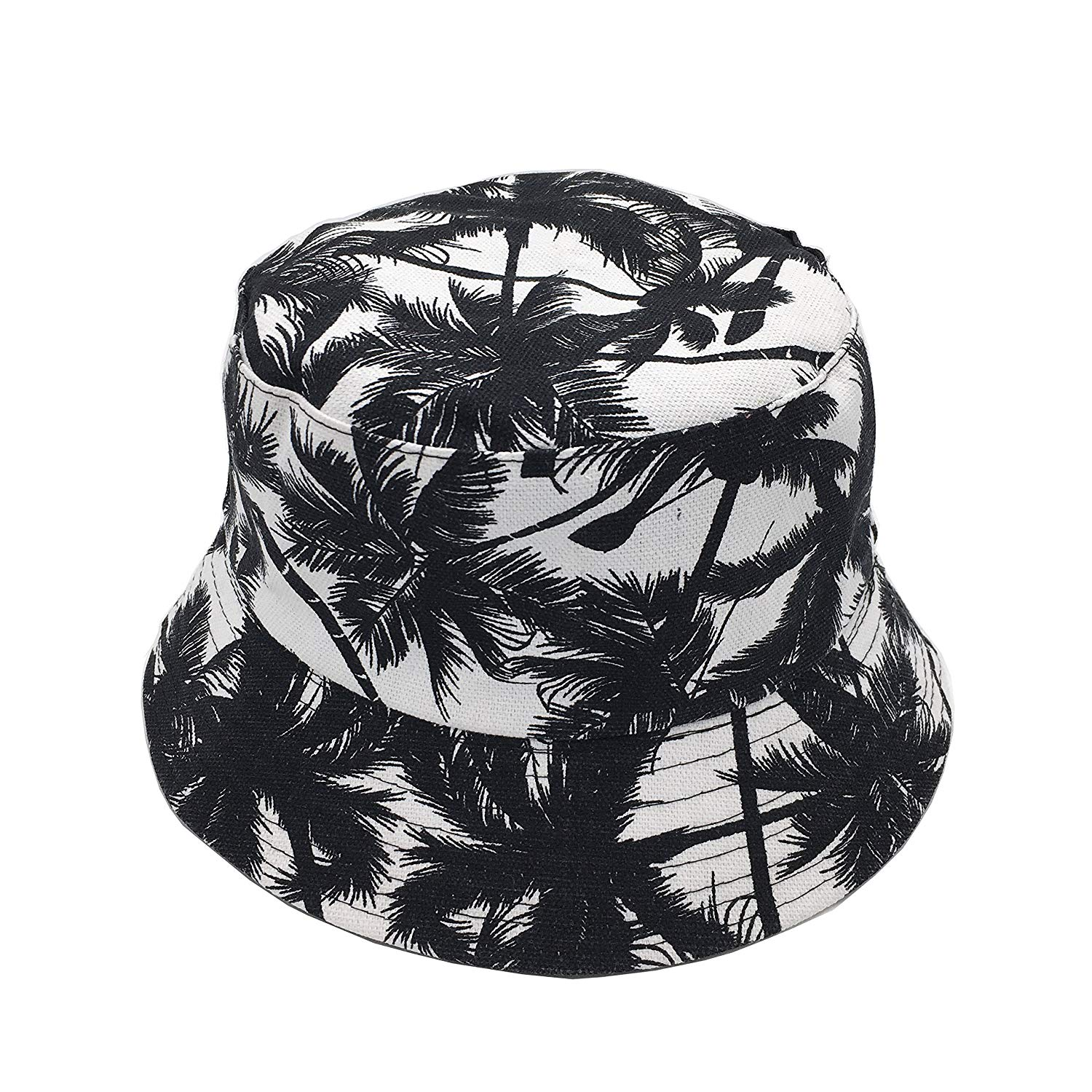 Get Quotations · Newsilk Store Bucket Hats For Women Dual-use Flat Top Bucket  Hat Fisherman Hat with 8dfaf13abb09