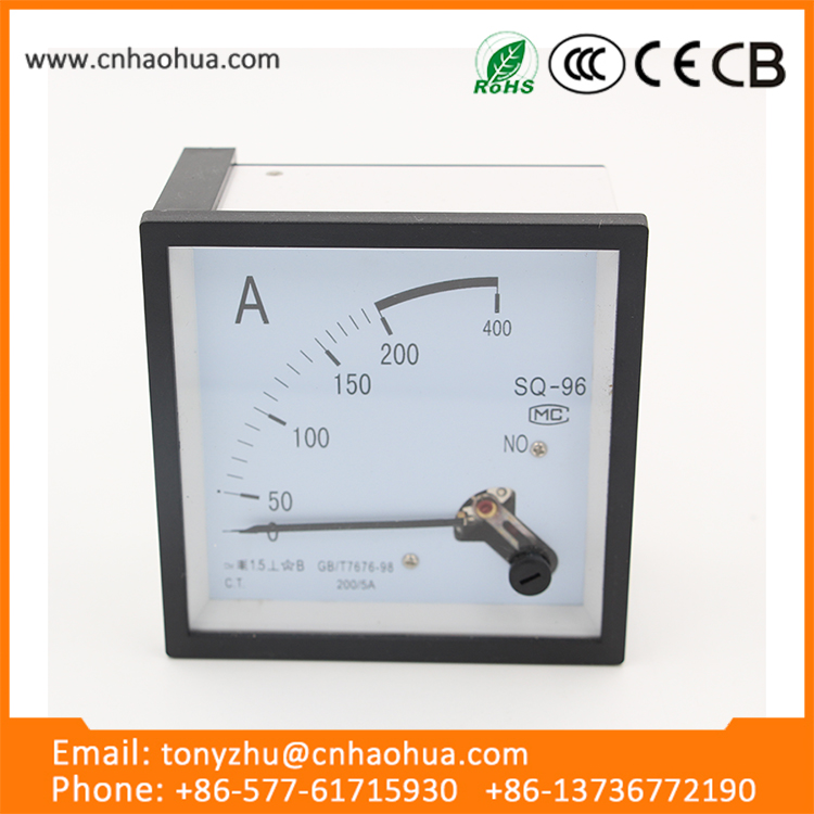 china wholesale Ampere Current Analog panel meter