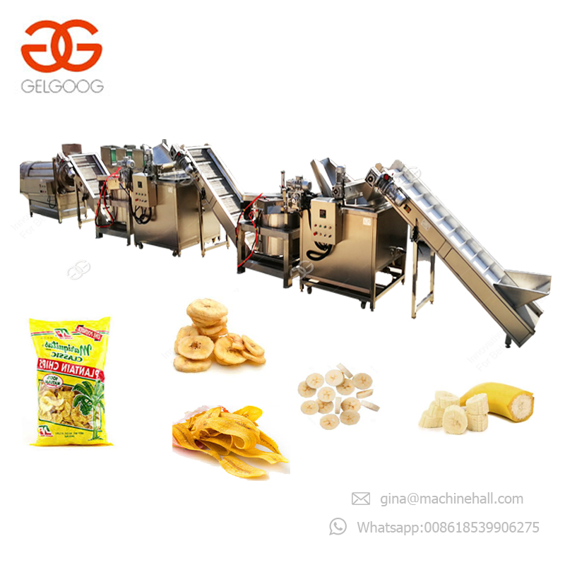 Haute Qualité CE Approbation Philippin Chips de Banane Machine
