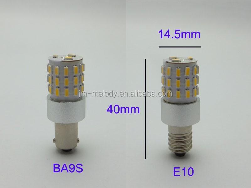 t15 3 w e10 ba9s mini miniature petite ampoule led instrument