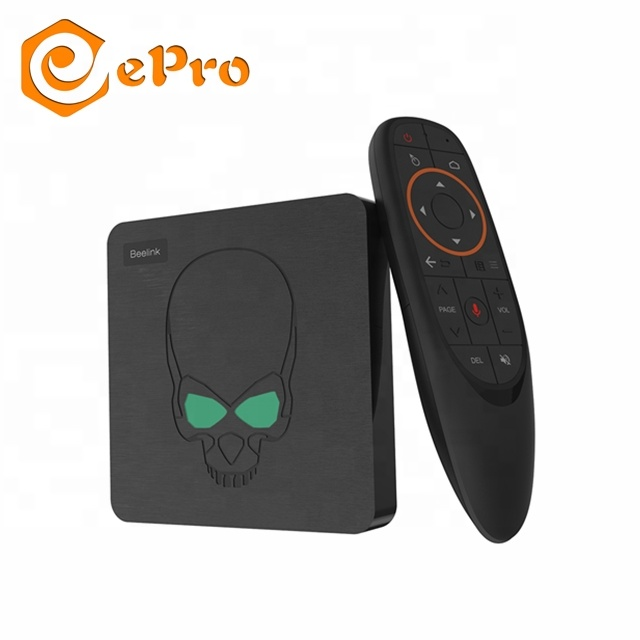 Beelink GT Re S922X 4G 64G di Android 9.0 tv box Smart IPTV Set Top Box Beelink GT- re voce telecomando tv box android 4 k