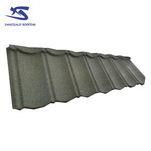 Kenya color rock roofing galvanized curved roof tile building materials with 50 years warranty