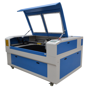 hot sale co2 80w 120w fabric textile heat/leather strap laser cutter machine