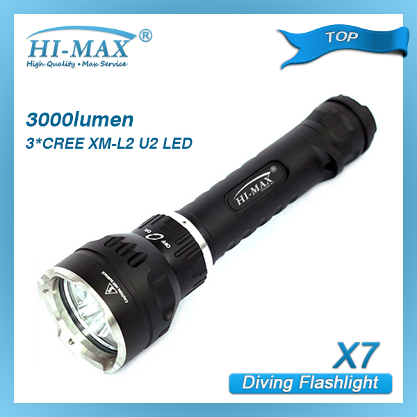 Made In China Cree Xml T6 1000 Lumens Led Diving Flashlight