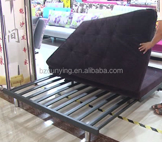 Sofa Bed Metal Frame Replacement Black Convertible Futon