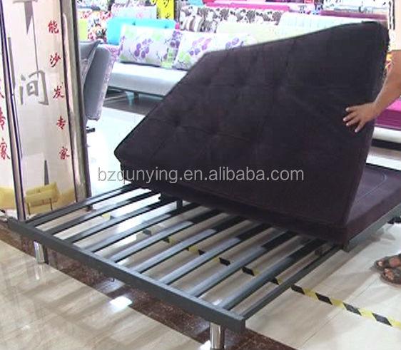 Sofa Bed Metal Frame Replacement Black Convertible Futon Sofa Bed Metal