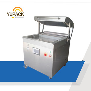 DZT7050 New Condition Skin Vacuum Packing Machine for Food Shrimp Meat in Tray