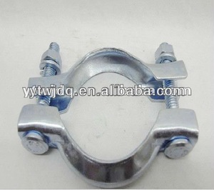 sliding pipe clamp support/ u-shaped pipe clamps/hanging pipe clamp