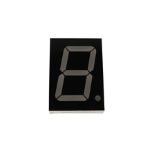 Shenzhen factory 1.2 inch 1 digit pure green led digital display 7 segment for counter
