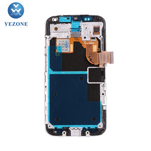 Wholesale 4.7 Inch LCD Display For Motorola Moto X XT1060 LCD Touch Panel Assembly With Middle Frame White