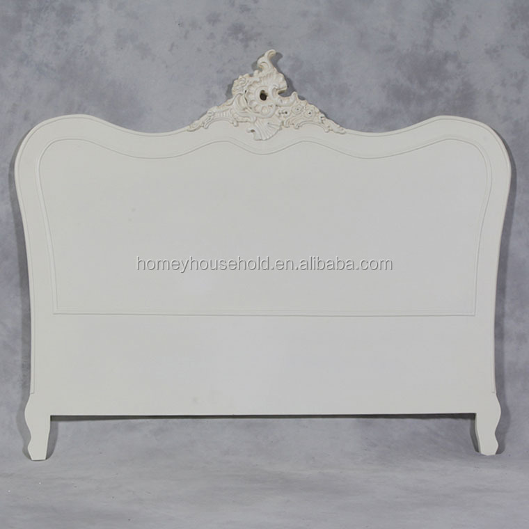 Modern Cream Painted Shabby Chic Finish King Size Head Board
