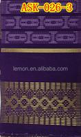 ASO-OKE gele head tie in purple color ASK-026-3