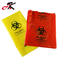 Roll type Large Capacity Biohazardous Disposal Medical Waste Plastic Trash Bags