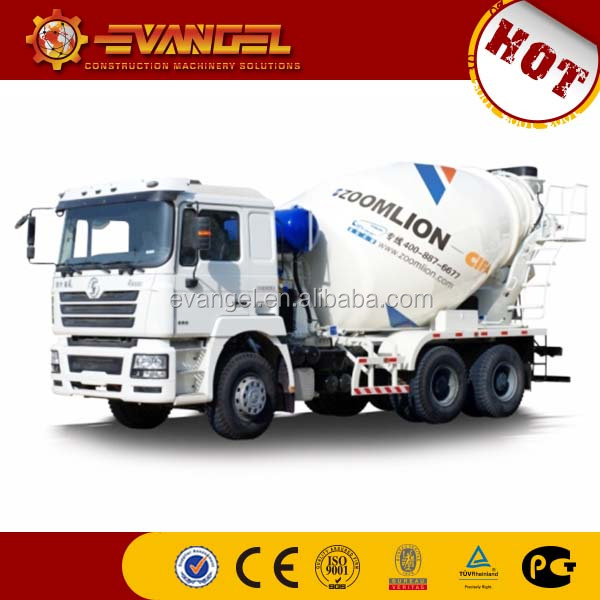 mini concrete mixer 9m3 ZOOMLION 6*4 concrete mixer truck