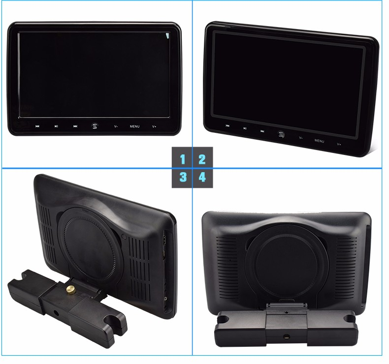 Auto Electronics removable headrest dvd player
