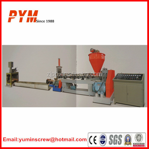 Extruder machine plastic recycling and plastic recycling machine