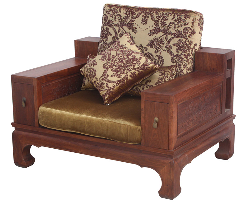 Antique Chinese Style Wood Sofa At Factory Price
