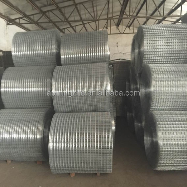 Galvanized Welded Wire Mesh Roll / Concrete Wire Mesh Rolls ...
