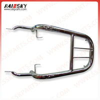 Haissky motorcycle parts spare High quality motorcycle rear carrier for GN125