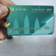 Credit Card Size Embossed Serial Number PVC Plastic Cards