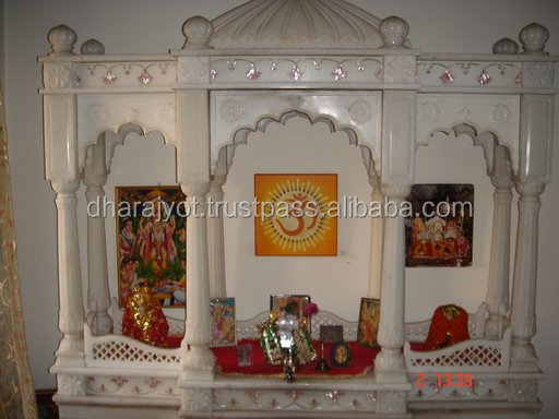 hindu temple decorations pooja mandir