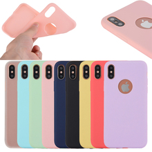 Amazon Hot wholesale price Ultra-thin deep color TPU case for iphone X,for iphone 8 case
