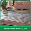 Linyi Film faced plywood supplier for construction formwork / 18mm Full poplar core, WBP Glue (Boilding: 6-8 hours)