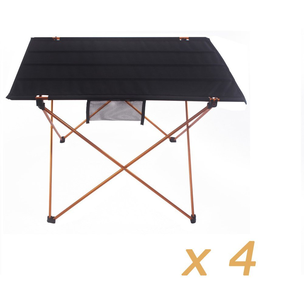 XD-201-GO wholesale Zero profit selling Aluminium Alloy Portable Folding Table Foldable Picnic Desk for Outdoor Camping