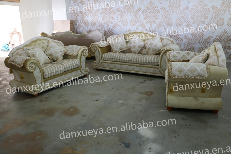 High Quality Middle East Style Sofa Set Living Room Furniture