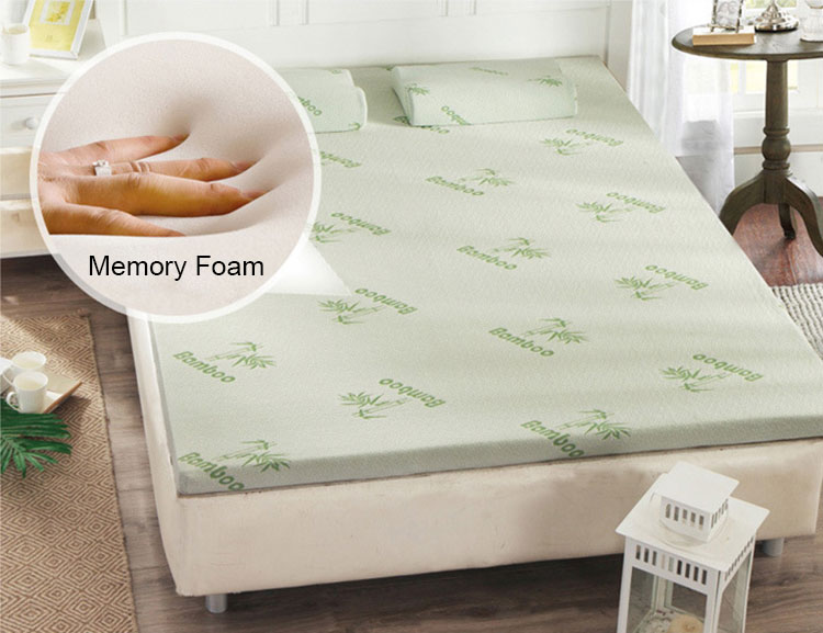 factory custom high density memory foam mattress topper for bedroom use