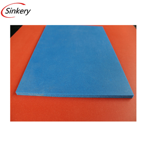 High temperature heat resistant silicone rubber sponge foam sheet or mat