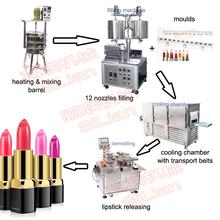 complete lipstick production line/lipstick production plant/lipstick making machine