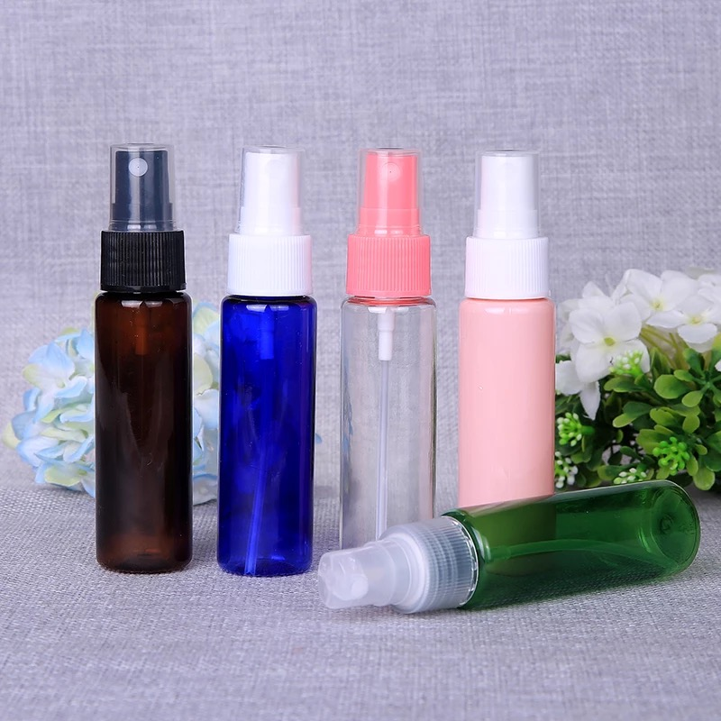 Custom 30 ml Gerecycled Plastic Spray Fles