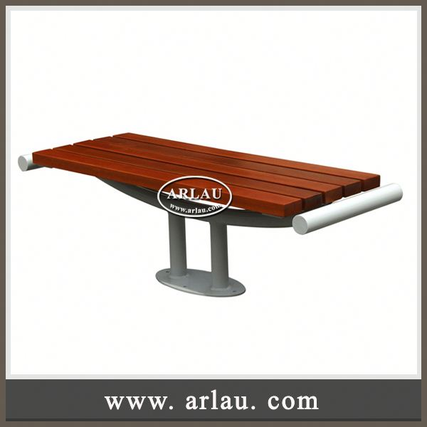 Arlau Large Chairs,Cast Iron Wood Bench,Teakwood Park Bench