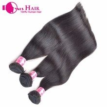 High quality full cuticle remy hair, black hair can be dyed russian virgin hair