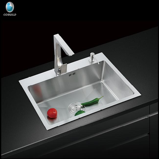 Foshan Manufacturer Stainless Steel Washing Portable Hand Wash Zero Radius  Kitchen Sink