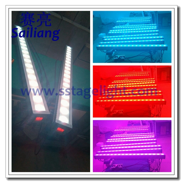 Professional Outdoor Led Wall Washer Light 18 3w Rgb