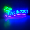 Small High Brightness Flash Open Flex LED Acrylic Backing Neon Sign