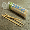 2015 hot sale bottle bamboo toothpick box teeth cleaning