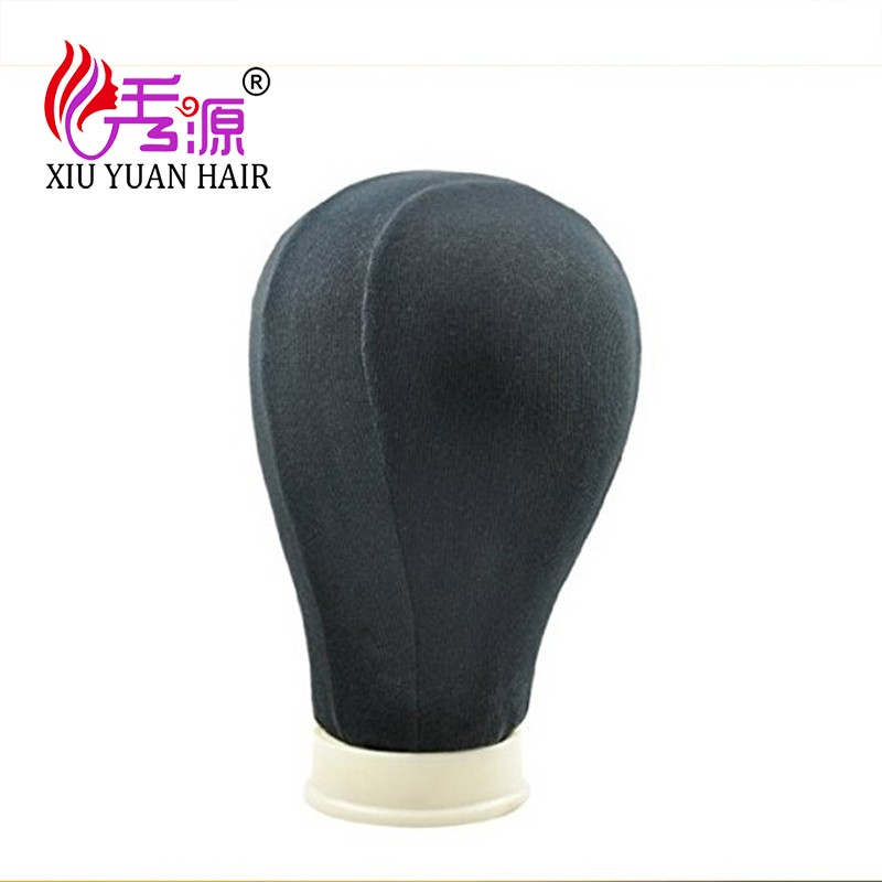 Fixing Wig Mannequin Model Head Canvas Block Pins Head Displaying Making Styling Model Wig Stand