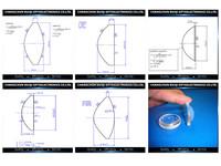 Optical Glass 40mm Biconvex Aspheric Lens - Buy Led Aspheric Lens ...