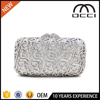 alibaba latest design evening clutch hard case wedding party lasies purse SC2955