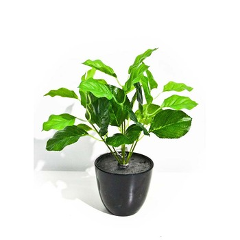small artificial foliage plants potted,decor bonsai for home,office