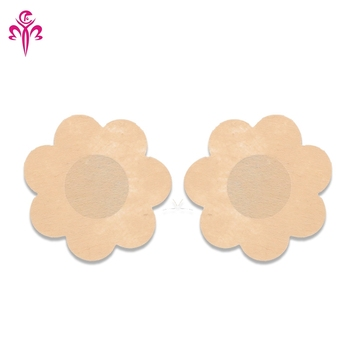 25e4c574d6856 Sexy Lingerie Pasties Invisible Disposable Breast Petals Adhesive Satin  Nipple Cover Tape