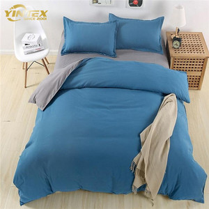 100% egyptian cotton microfiber bed sheet sets for home